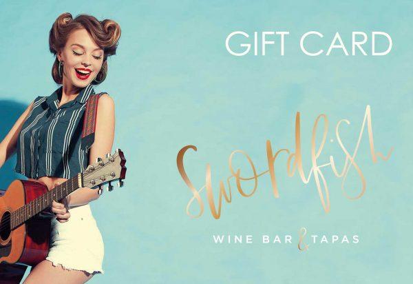 GIFT CARD swordfish wine bar